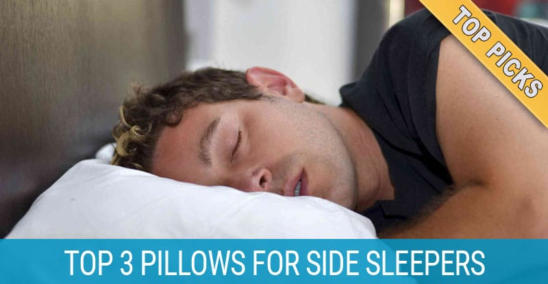 4 Best Pillows For Side Sleepers In 2019 For Less Neck