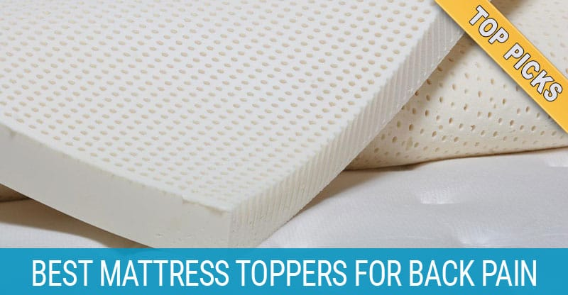 3 Best Mattress Toppers In 2019 To Reduce Back And Shoulder Pain