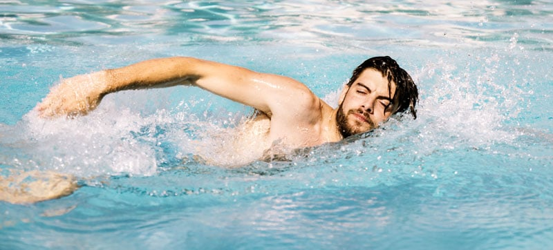 best swim stroke for back pain sufferers