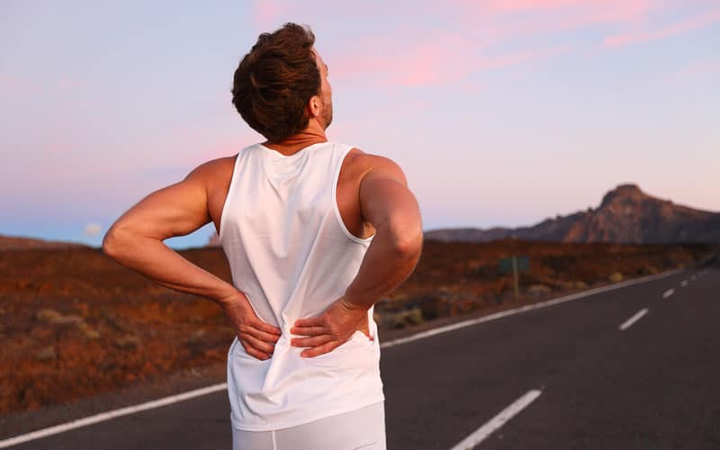 lower back pain after running